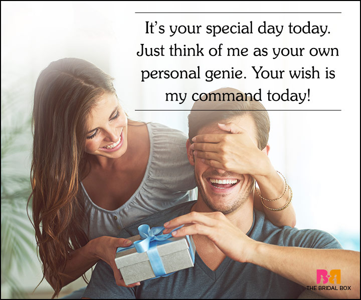 Love Quotes For Husband On His Birthday - Your Own Personal Genie