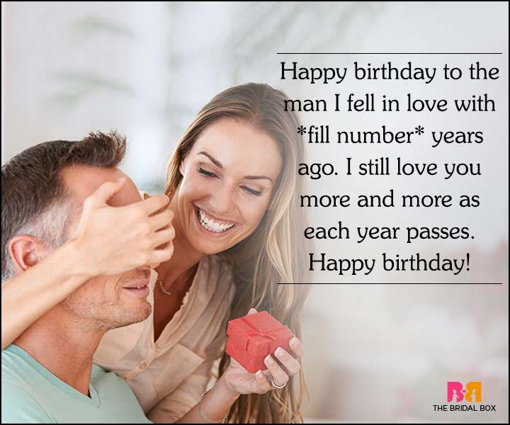 Love Quotes For Husband On His Birthday - I Still Love You More And More