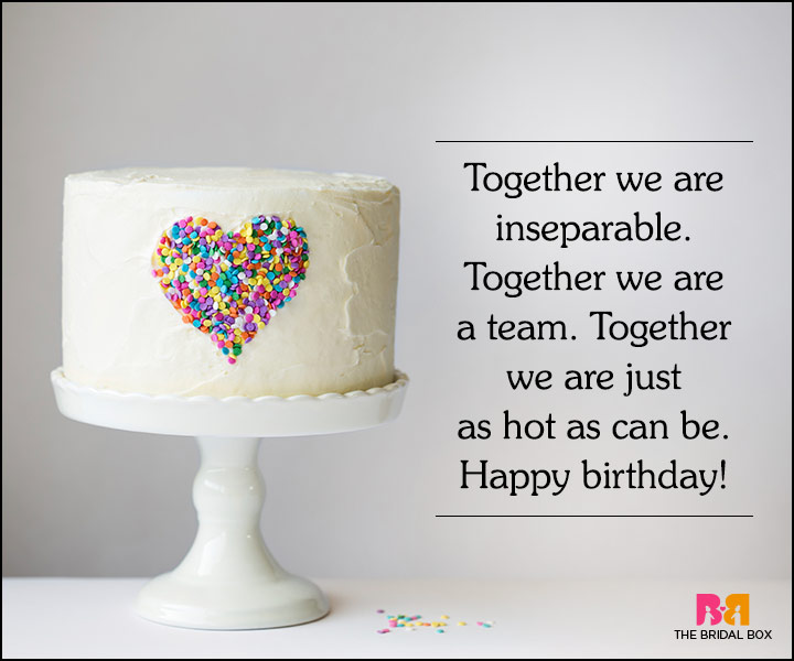 Love Quotes For Husband On His Birthday - We're A Team