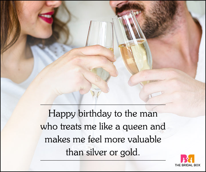 Love Quotes For Husband On His Birthday - The King
