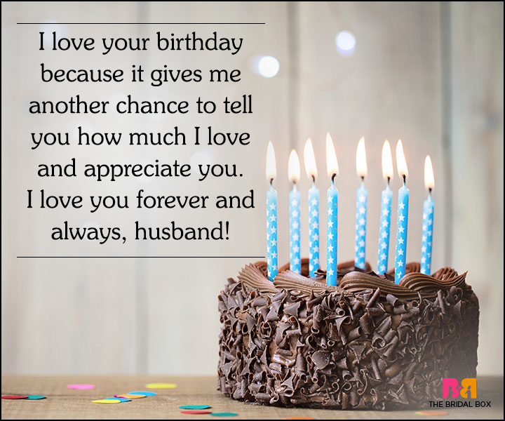 Love Quotes For Husband On His Birthday - Another Excuse To Say I Love You