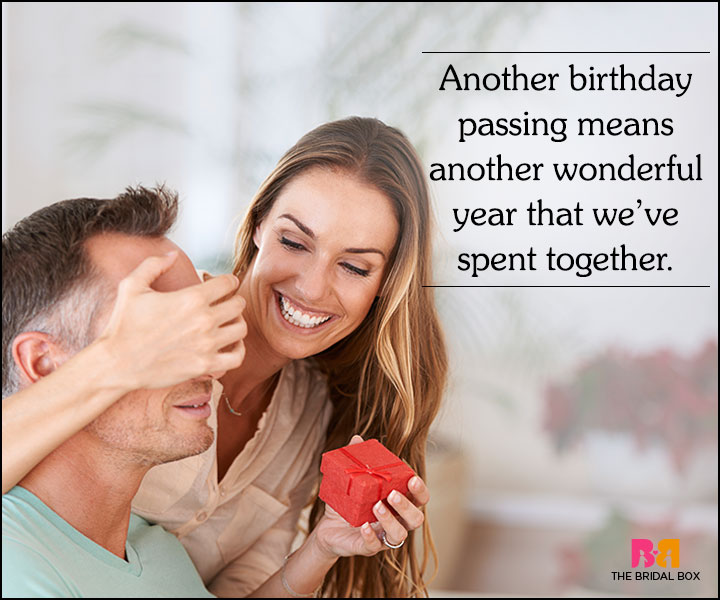 Love Quotes For Husband On His Birthday - Another Wonderful Year