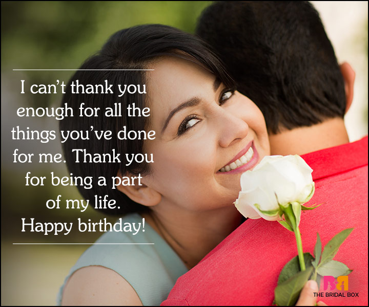 30 Cute Love Quotes For Husband On His Birthday