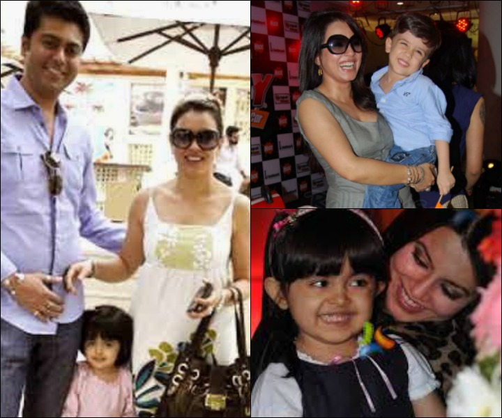 The Mahima Chaudhary Marriage - Mahima Chaudhary And Bobby Mukherji With Daughter Aryana