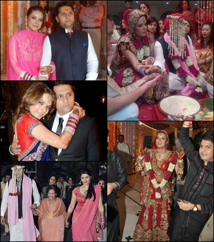 The Mohit Suri Udita Goswami Marriage - Mohit Suri And Udita Goswami At Their Wedding Celebrations