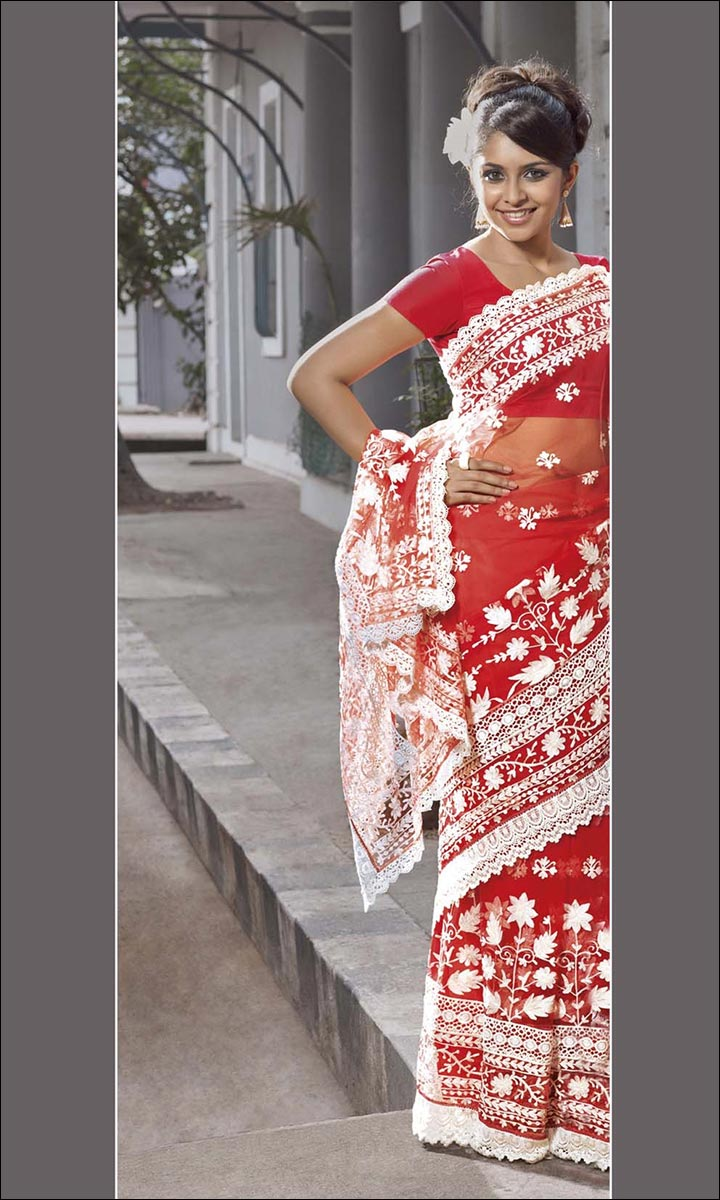 RMKV Bridal Sarees - Red And Fancy