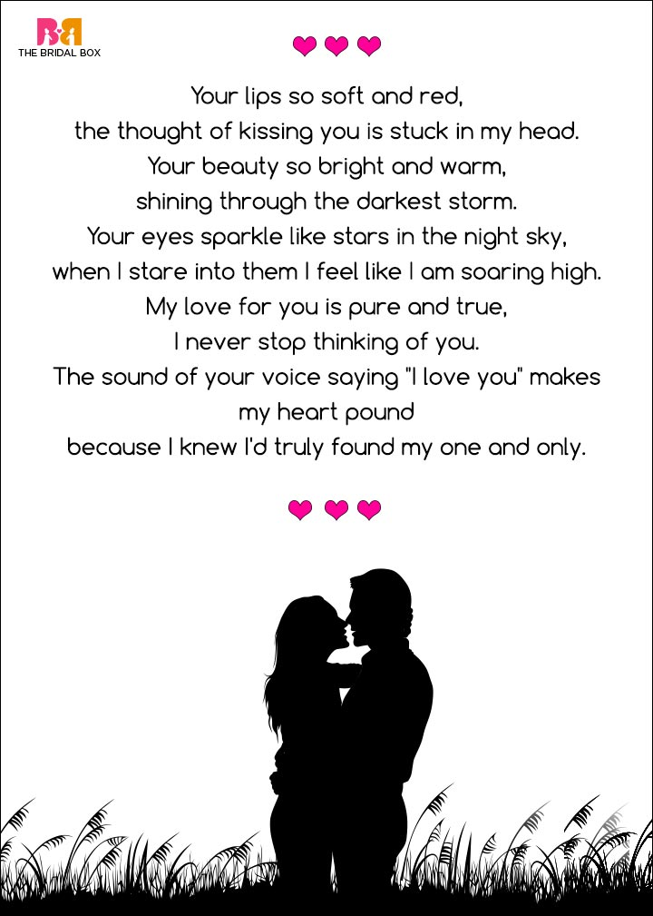 Romantic Love Poems For Her - For Her, Jamie Emms