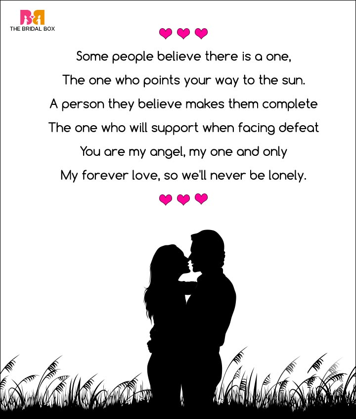 Romantic Love Poems For Her - My Angel My Girlfriend, Rick Morley