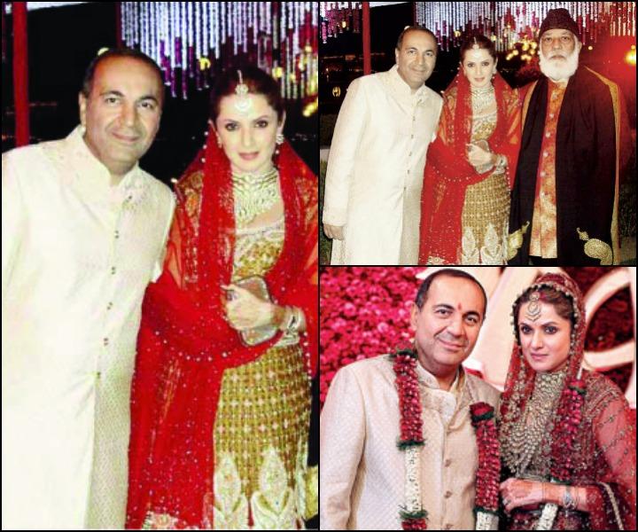 The Anu Mahtani Sanjay Hinduja Wedding - Anu Mahtani And Sanjay Hinduja At Their Wedding