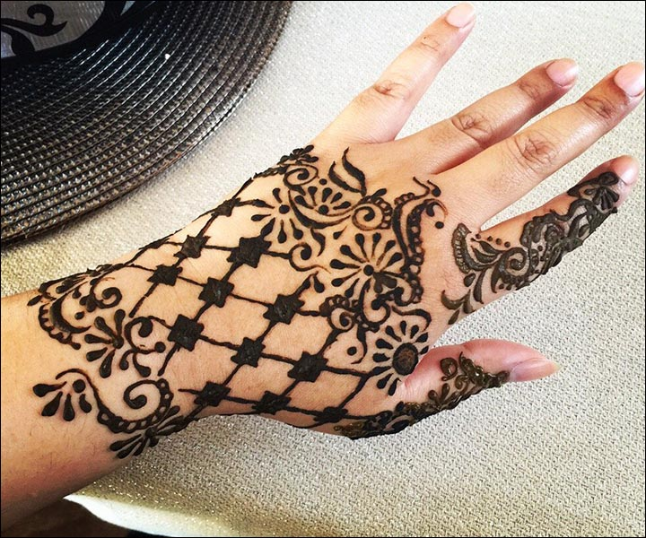 Western Mehndi Designs - The Glove