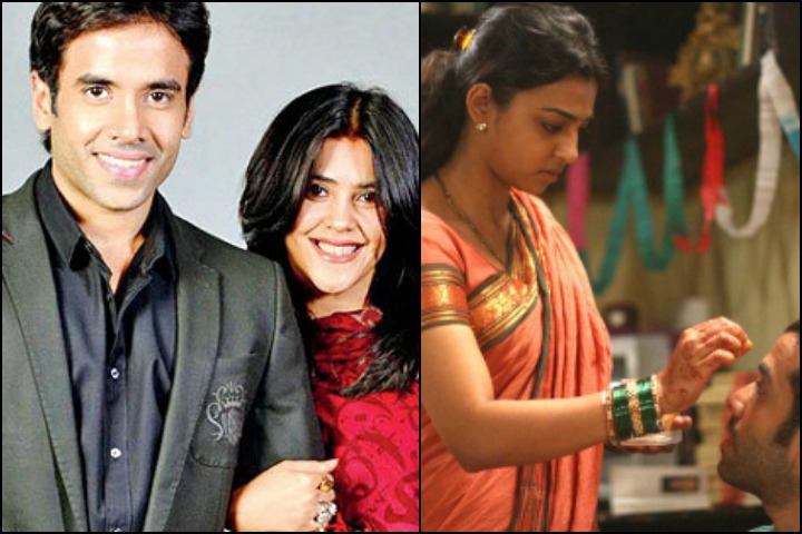 The Tusshar Kapoor Marriage Story - Tusshar Kapoor With HIs Sister Ekta Kapoor And Inset With Radhika Apte