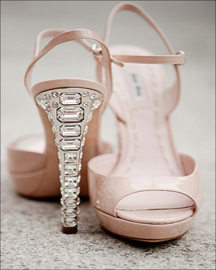 Jimmy Choo Wedding Shoes - A Stoney Affair