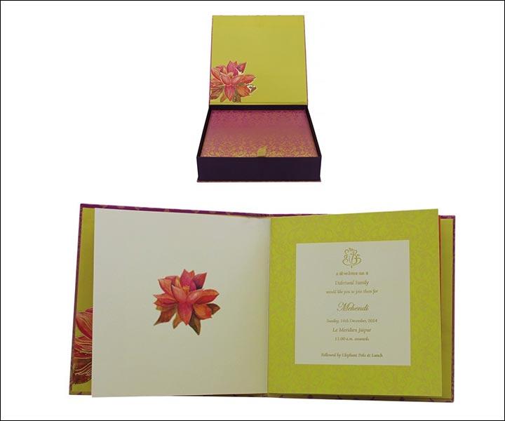 Designer Wedding Cards - Band Baaja Baraat