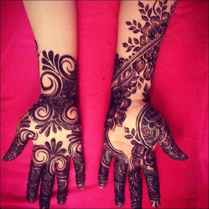 Stylish Unique Mehndi Designs: Unique Mehndi Designs : Be A Trendsetter With These 15 Designs