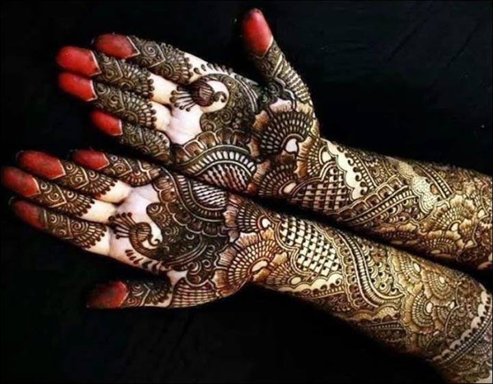 Unique Mehndi Designs - Bridal Charm