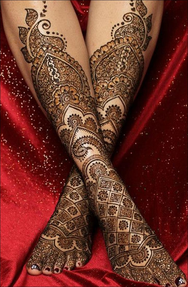 Mughlai Mehndi Designs - Brilliant Bridal Beauty