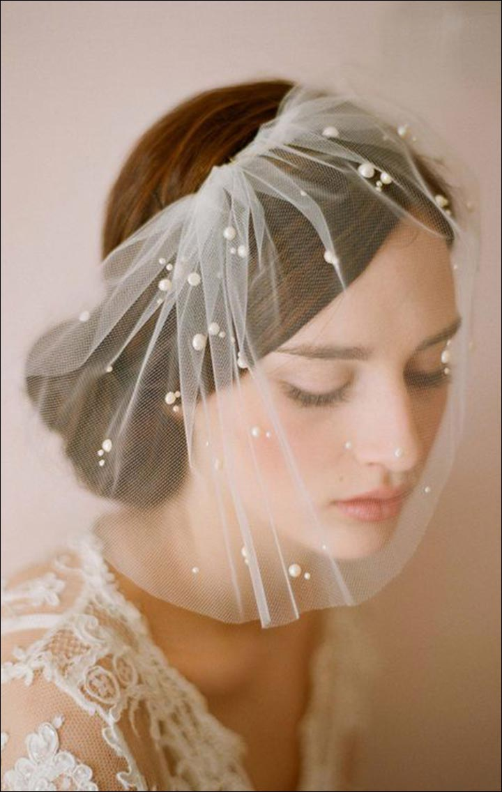 Wedding Veils - Bubbling Heart