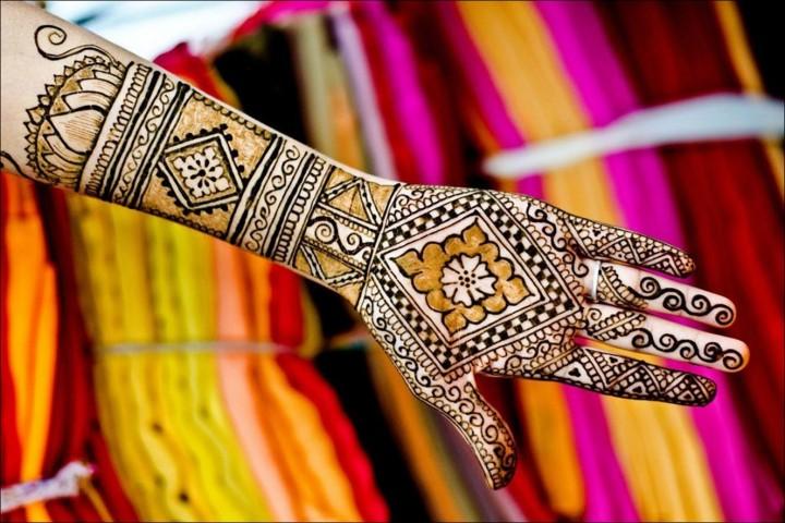 Rangoli Mehndi Designs - Check-Mate