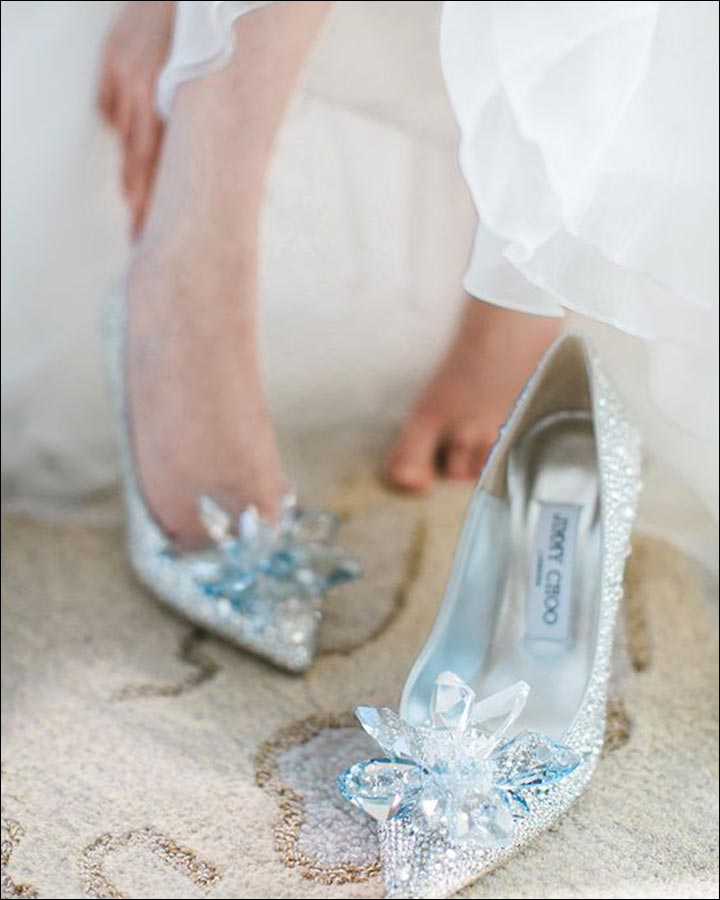 Jimmy Choo Wedding Shoes - Cinderella