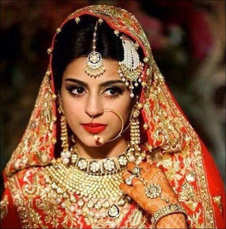 Wedding Hairstyle Indian Bride: 24 Gorgeous Indian Bridal Looks In Celebrity Pictures & More