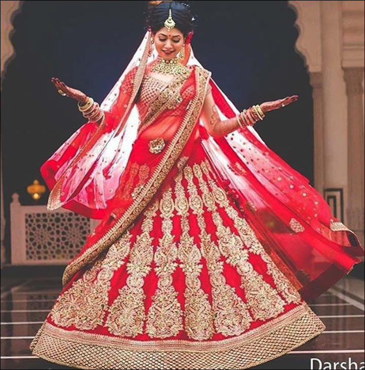 Indian Bridal Looks - Regal Reds