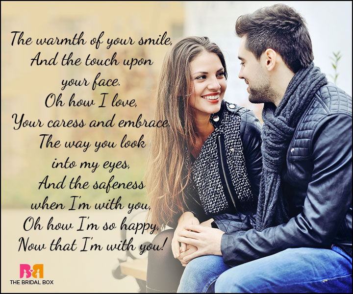 Cute Love Poems - The Way You Look