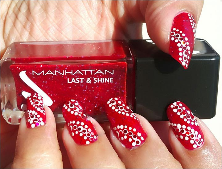 Bridal Nail Art Designs - Dotted Darling Bridal Nail Art