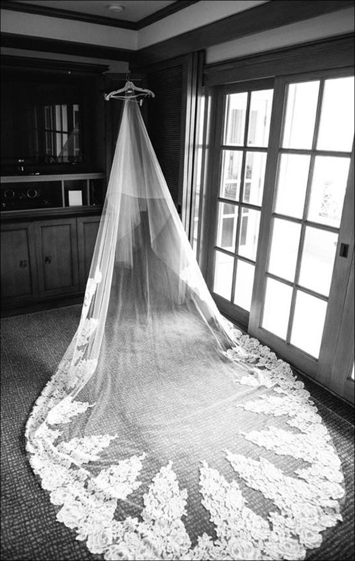 Wedding Veils - Doubly Pleased