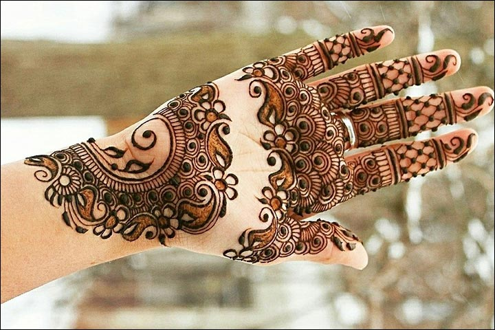 Unique And Easy Mehndi Designs : Unique mehndi designs be a trendsetter with these
