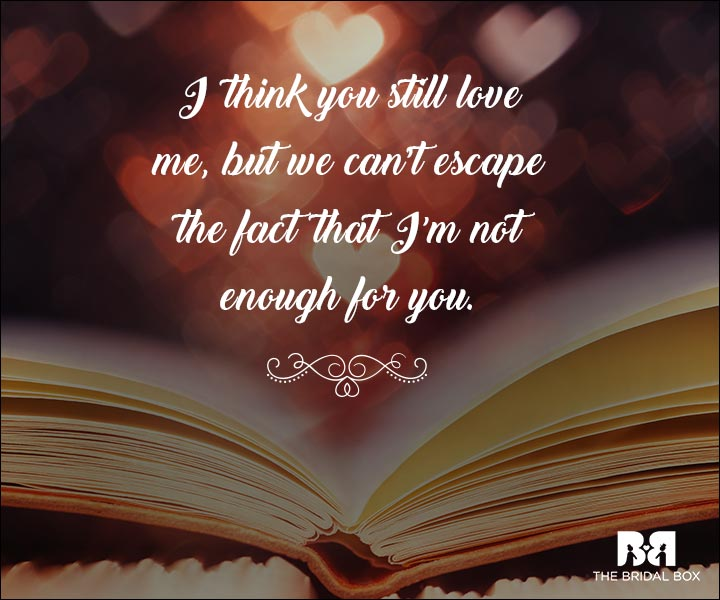 Emotional Love Quotes - We Can't Escape It