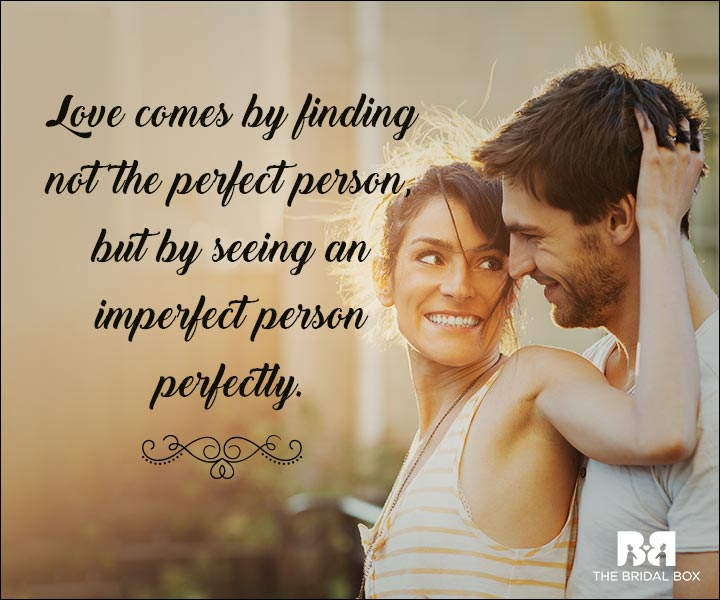 Emotional Love Quotes - Perfection
