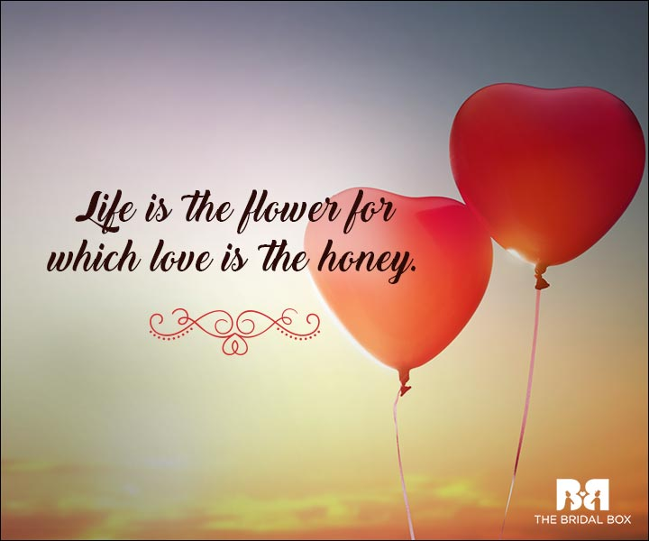 Emotional Love Quotes - Honey To The Bees
