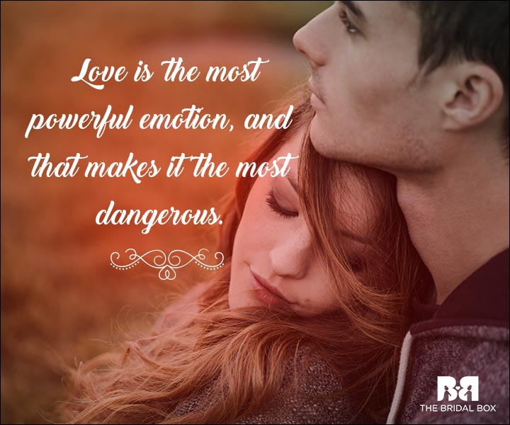 Emotional Love Quotes - The Most Powerful Emotion