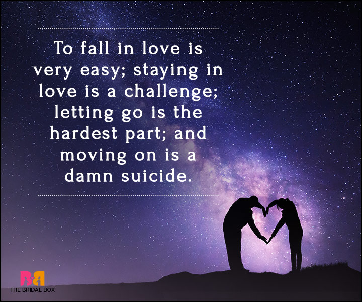 Suicidal Quotes About Love Enchanting 50 Falling In Love Quotes Musings For Those Who Tripped And Fell