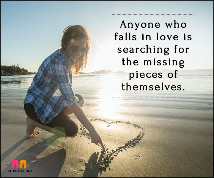 Falling In Love Quotes - Searching