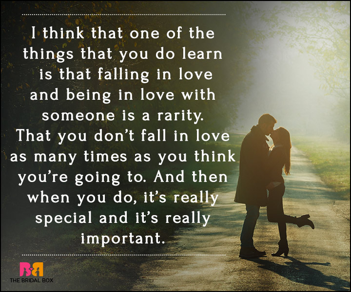 Falling In Love Quotes - It's Really Special
