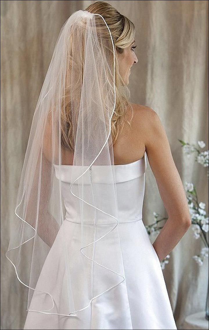 Wedding Veils - Falls Just Right