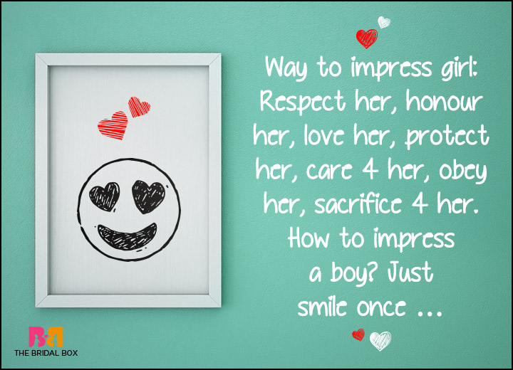Funny Love SMS - How To Impress Someone