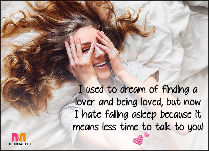 Good Morning Love SMS - I Hate Falling Asleep