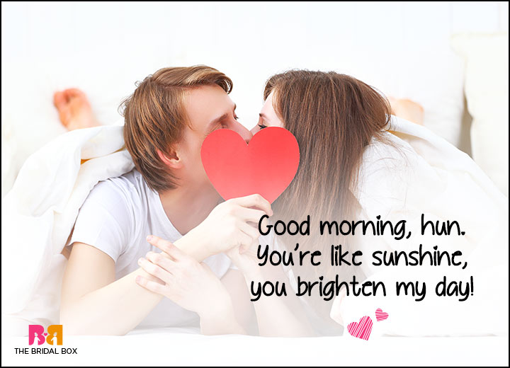 Good Morning Love You Sms : Good morning love smses to brighten your s day