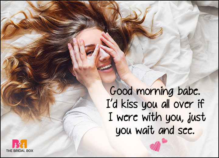 Good Morning Love SMS - Just Wait And See