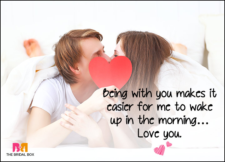 Good Morning Love SMS   Easier To Wake Up
