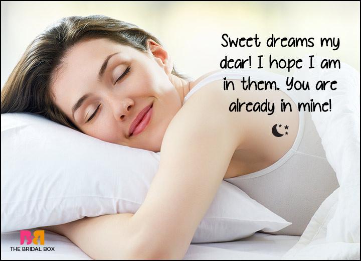Good Night Love SMS - Sweet Dreams My Dear