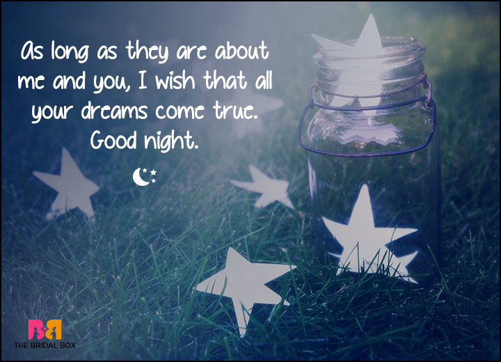 Good Night Love SMS - As Long As You Love Me