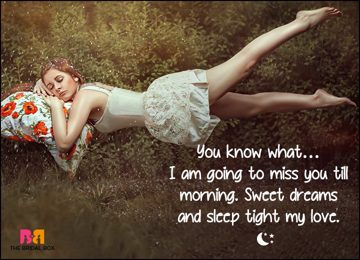 Good Night Love SMS - Miss You