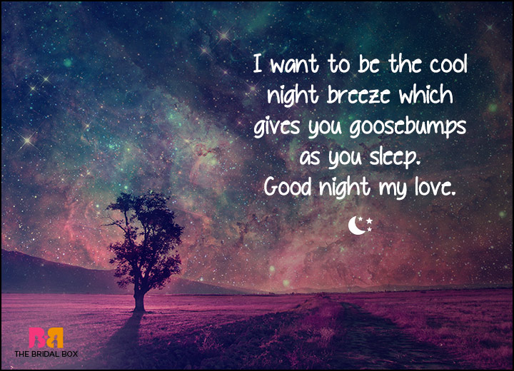 Perfect good night sms