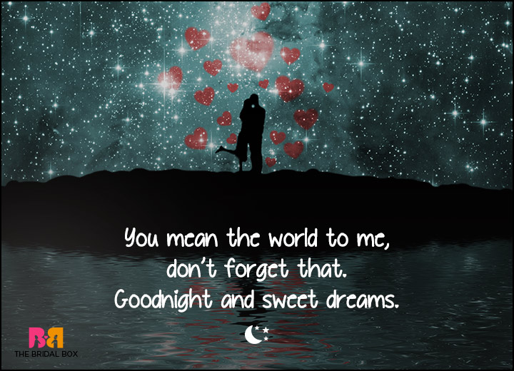 Good Night Love SMS - You're My World