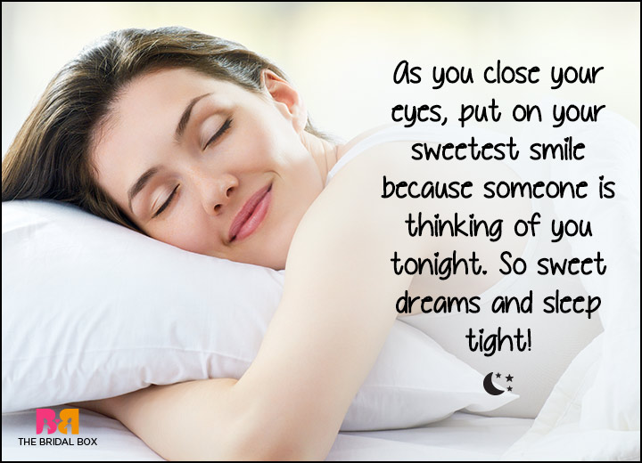Good Night Love SMS - Someone's Thinking Of You Tonight
