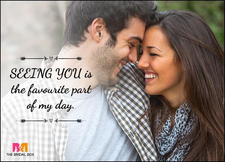 Happy Love Status Messages - My Favourite Part