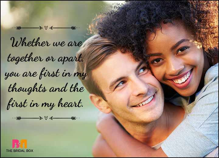 Happy Love Status Messages - The First